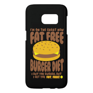 Fat Free Burger Diet Samsung Galaxy S7 Case