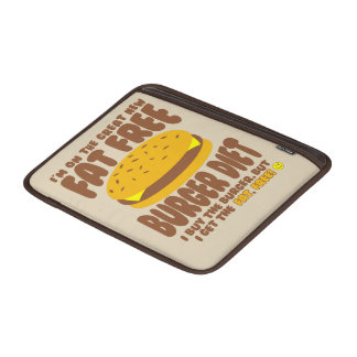 Fat Free Burger Diet Sleeve For MacBook Air