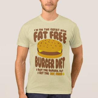 Fat Free Burger Diet T-Shirt