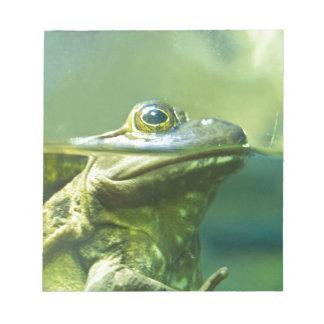 Fat Frog Notepad