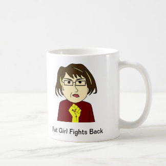 Fat Girl Fights Back Mug