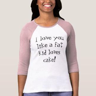 Fat Kid and Cake Shirts