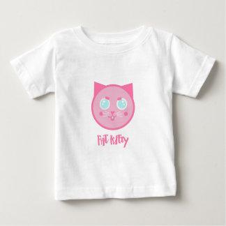 FAT KITTY logo Baby T-Shirt