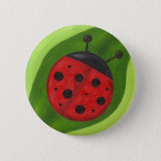 Fat Ladybug button