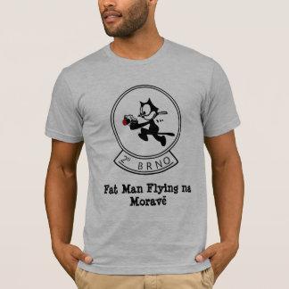 Fat Man Flying na Morave T-Shirt