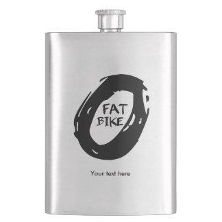 Fat Mountain Bike Hip Flask