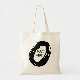 Fat Mountain Bike Tote Bag