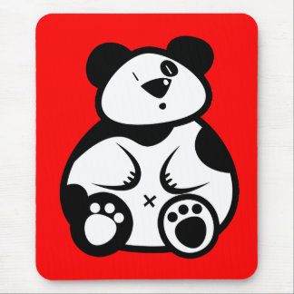 Fat Panda Mouse Pad