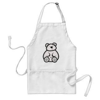 Fat Polar Bear Apron
