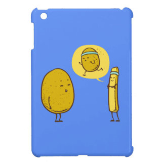 Fat potato against a weak potato iPad mini covers