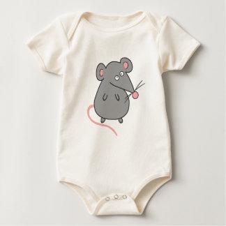 Fat Rat Baby Bodysuit