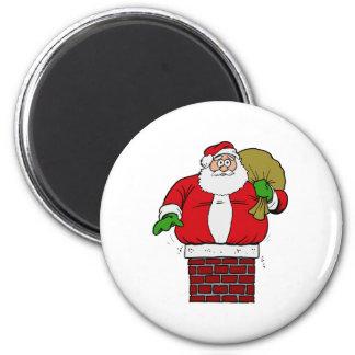 Fat Santa Magnet