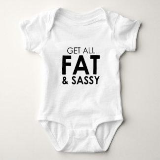 Fat & Sassy Baby Bodysuit