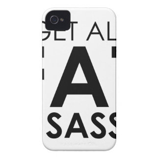 Fat & Sassy Case-Mate iPhone 4 Cases