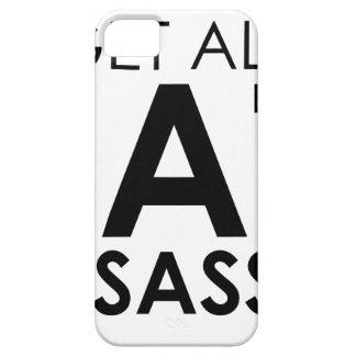 Fat & Sassy iPhone 5 Case