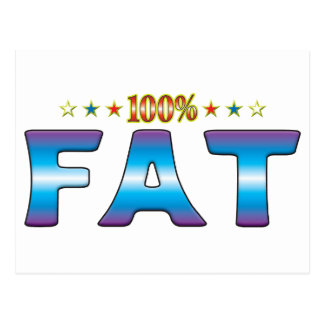 Fat Star Tag v2 Postcard