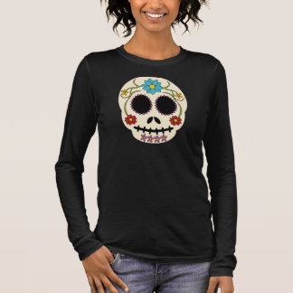 Fat Sugar Skull Long Sleeve Shirt
