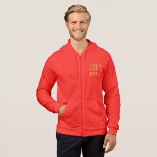 FAT THE CITY MARKET logographic LOGO Parker Hoodie