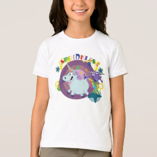 fat unicorn on the run T-Shirt