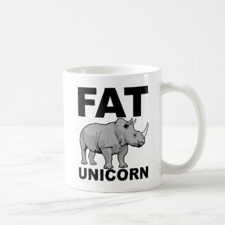 Fat Unicorn Rhino Funny Mug