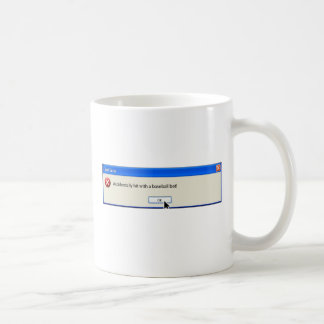 FAtal  Error Funny  Computer Message Coffee Mug
