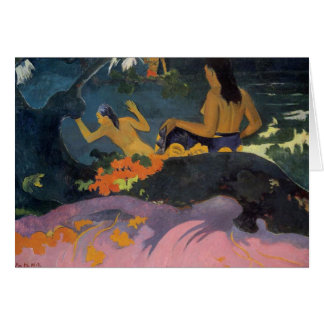 'Fatata Te Miti' - Paul Gauguin Card