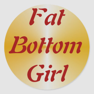 FatBottomGirl Stickers