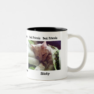 "Fatboy and Stinky ""Best Friends"" Mug"