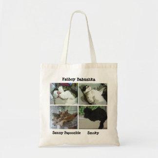 Fatboy, Sunny and Smoky Tote Bag