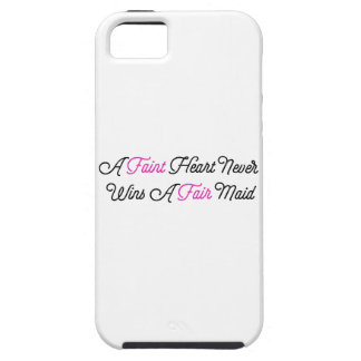 Fate Hearted Never Wins A Fair Maid iPhone 5 Case
