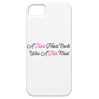 Fate Hearted Never Wins A Fair Maid iPhone 5 Covers