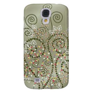 fatfatin Green Boho Spirals ® Samsung Galaxy S4 Case