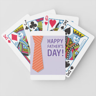 Father #10 bicycle playing cards