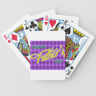 Father #11 bicycle playing cards
