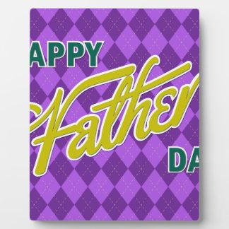 Father #11 plaque