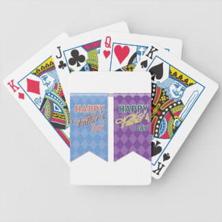 Father #12 bicycle playing cards
