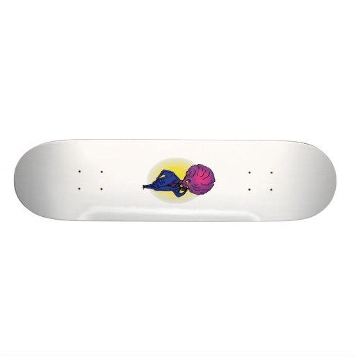 Father Alien on Phone Skateboard Decks