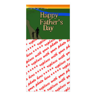 Father And Child - Father s Day Picture Card