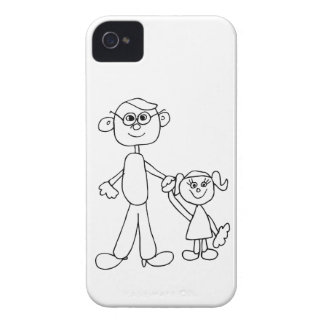 Father and Daughter iPhone 4 Case-Mate Case
