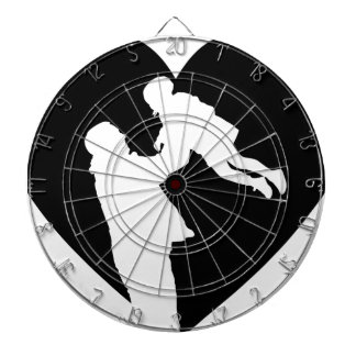 Father And Daughter Heart Dartboard