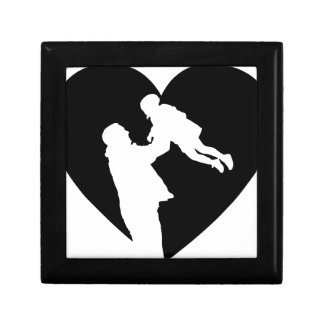 Father And Daughter Heart Gift Box