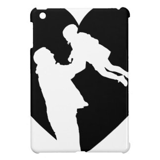 Father And Daughter Heart iPad Mini Cover