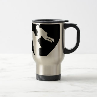 Father And Daughter Heart Travel Mug