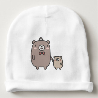 Father and Son Baby Beanie