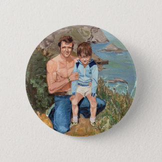 'Father and Son' Button