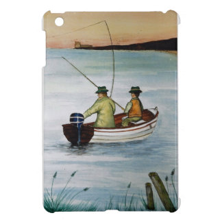 Father and son fishing trip cover for the iPad mini