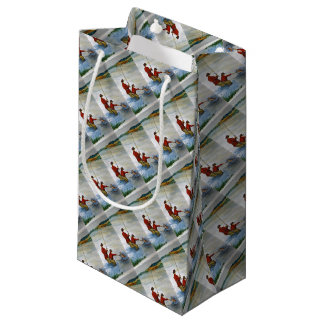 Father and son fishing trip small gift bag