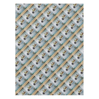 Father and son fishing trip tablecloth