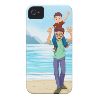 Father and son iPhone 4 cases