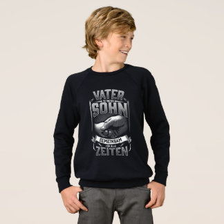Father and son love sweatshirt